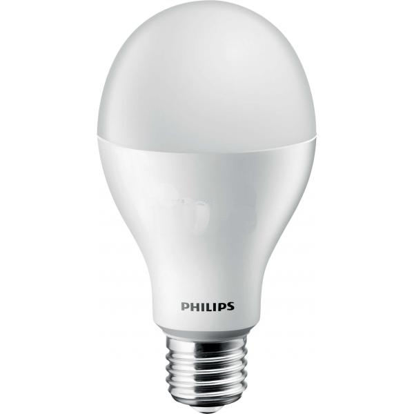 Лампа Philips LEDBulb E27 14-100W 6500K 230V A67 (1+1) (8717943885077)