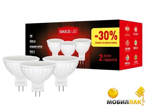 Maxus 3-LED-143-01 MobilLuck.com.ua 53.000