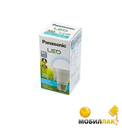 Panasonic LED 5W (40W) 6500K 350lm E27