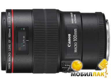 Canon EF 100mm f/2.8 IS USM Macro MobilLuck.com.ua 14352.000