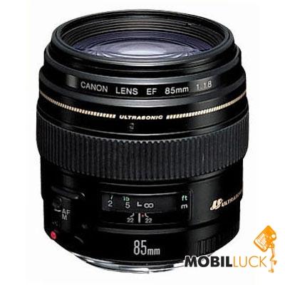 Canon EF 85mm f/1.8 USM MobilLuck.com.ua 6199.000