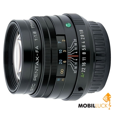 Pentax SMC FA 77mm f/ 1.8 Limited MobilLuck.com.ua 11949.000