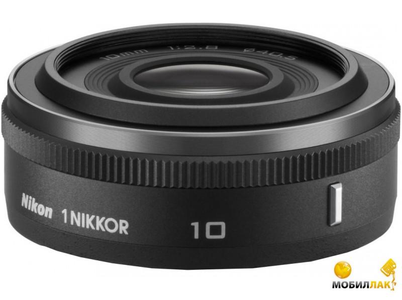 Nikon 1 10mm f/2.8 Black MobilLuck.com.ua 2145.000