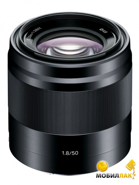 Sony 50mm f/1.8 Black для камер NEX MobilLuck.com.ua 4799.000