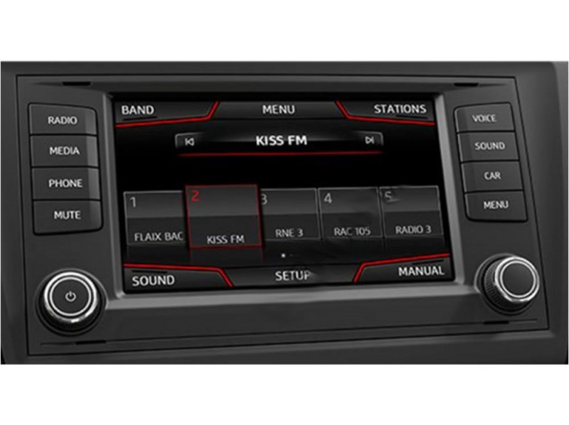 Gazer VI700W-MIB2/SD (Seat/Skoda/VW) Gazer