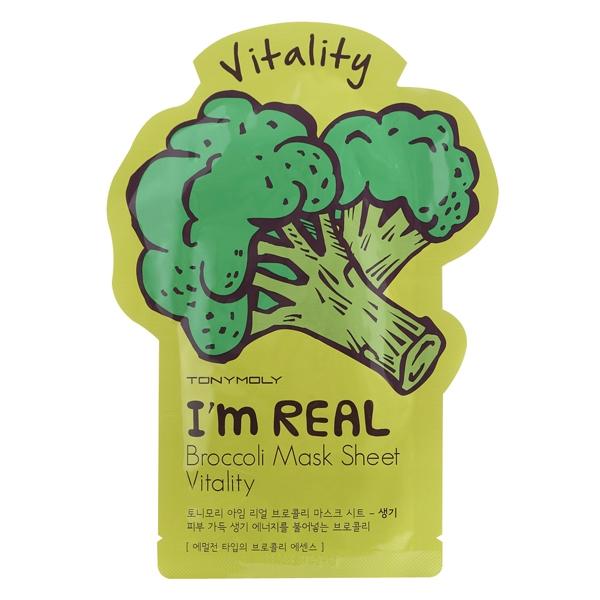 Tony Moly I`m real broccoli mask sheet 21 мл Tony Moly