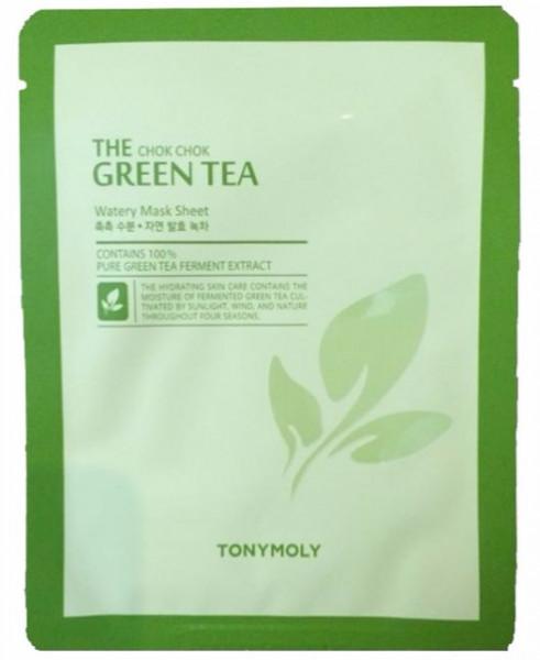Tony Moly The Chok Chok Green Tea Watery Sheet 20г Tony Moly