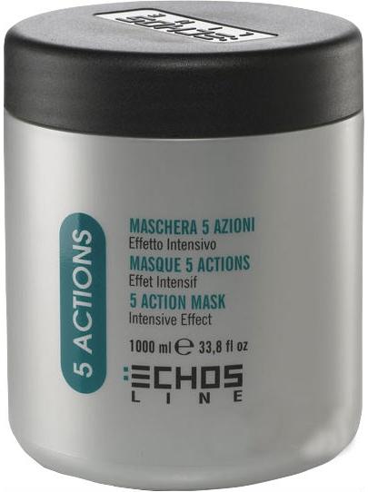 Echosline 5 действий с экстрактами трав 1000 мл Echosline