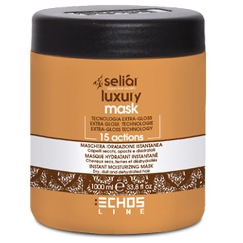 Echosline Маска для сухих, тусклых и обезвоженных волос Seliar Luxury 1000 мл Echosline