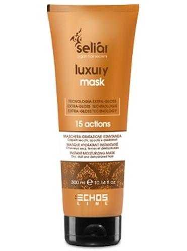 Echosline Маска для сухих, тусклых и обезвоженных волос Seliar Luxury 300 мл Echosline