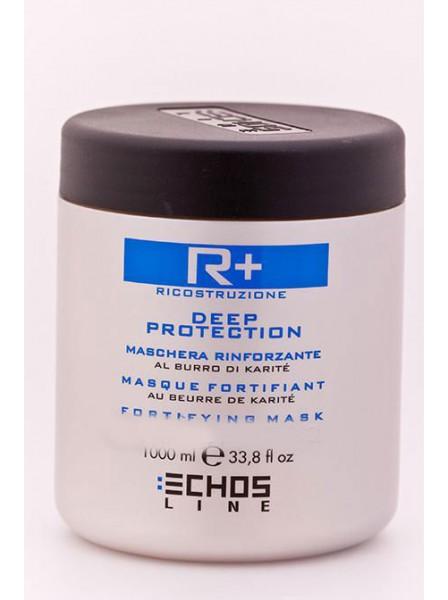 Echosline для глубокой реконструкции и защиты волос с маслом карите EL R Plus 1000 мл Echosline