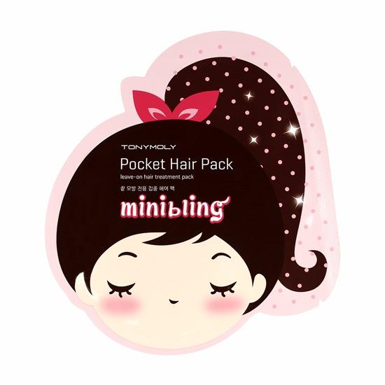 Tony Moly Mini Bling Pocket Hair Pack 8 г Tony Moly