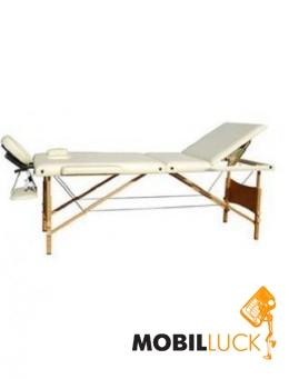 HouseFit HY-30110 Массажный стол 3-х секционный (дерев. рама) MobilLuck.com.ua 1907.000