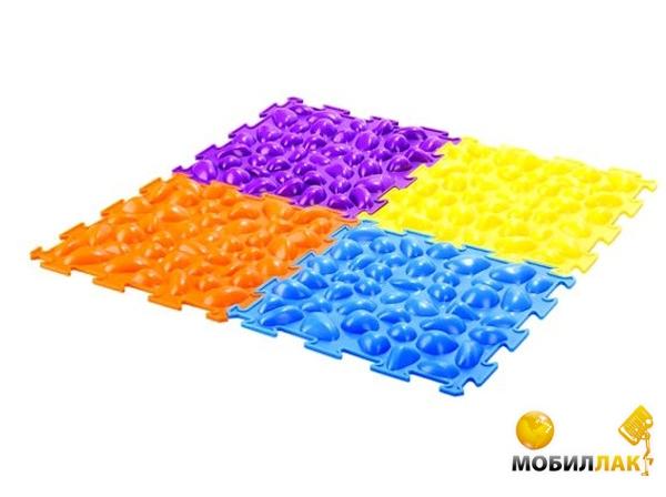 Массажный коврик цветные камешки
