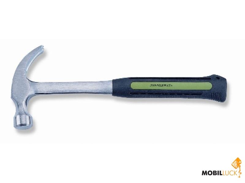 Jonnesway Молоток с гвоздодером с обрезиненой рукояткой 0,875кг (M01020) MobilLuck.com.ua 370.000