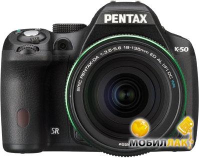 Pentax K-50 DA 18-135 WR Black MobilLuck.com.ua 13475.000