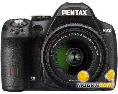 Pentax K-50 DA L 18-55 WR Black MobilLuck.com.ua 9772.000