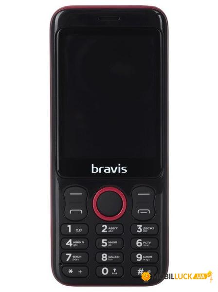 25fb6cb1f2edf Купить Мобильный телефон Bravis C281 Wide Dual Sim Red. Цена, доставка по  Украине - Киев, Харьков, Днепропетровск, Одесса.