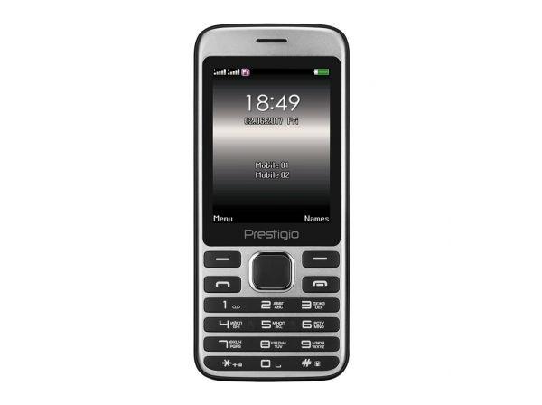 Мобильный телефон Prestigio Grace A1 1281 Dual Sim Black