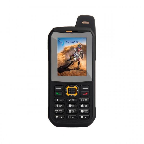 Sigma mobile X-style 68 3GSM Triple Sim Black-Orange Sigma