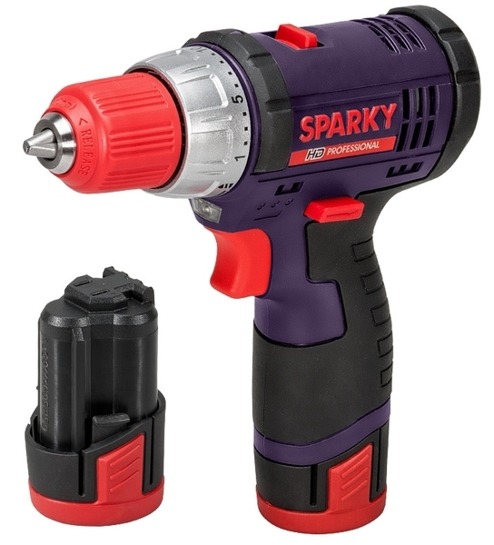 Sparky BR2 10.8Li-C HD Sparky