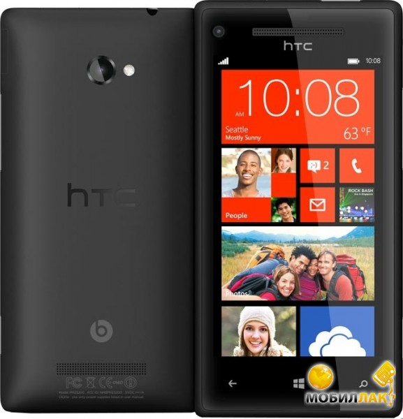 ... htc windows phone 8x c620e graphite black купить htc