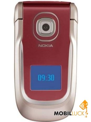 Фотография Nokia 2760 Velvet red Картинка Nokia 2760 Velvet red.