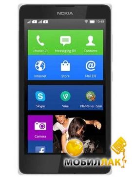 Nokia X Dual Sim White MobilLuck.com.ua 1499.000