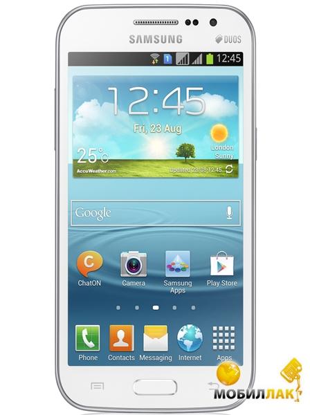 Samsung GT-i8552 Galaxy Win Ceramic White MobilLuck.com.ua 2299.000