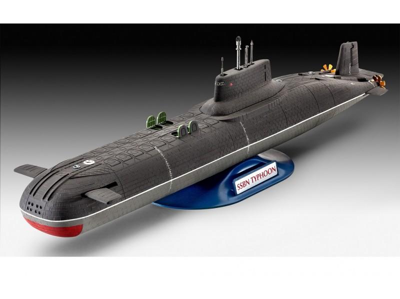 макет подводной лодки тайфун