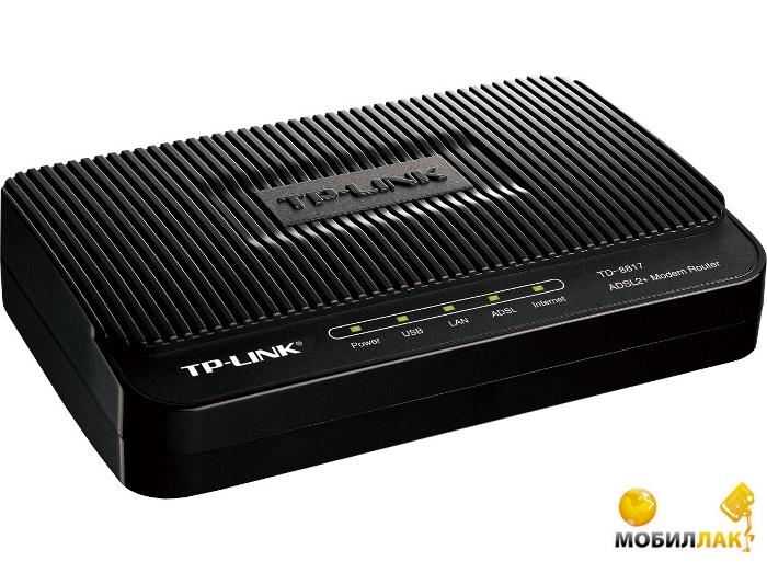 TP-Link TD-8817 (A) ADSL2+ MobilLuck.com.ua 247.000