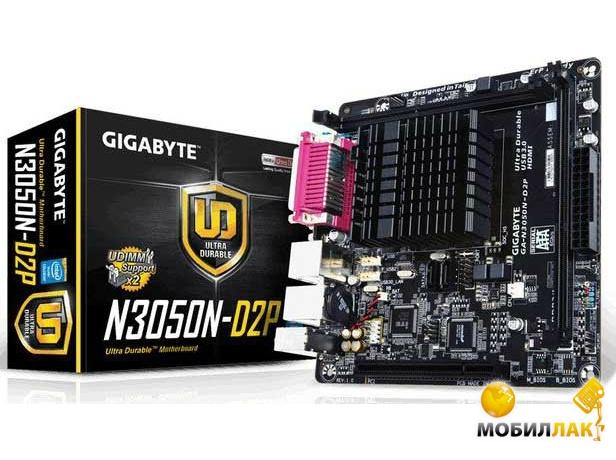 Gigabyte Celeron GA-N3050N-D2P Gigabyte