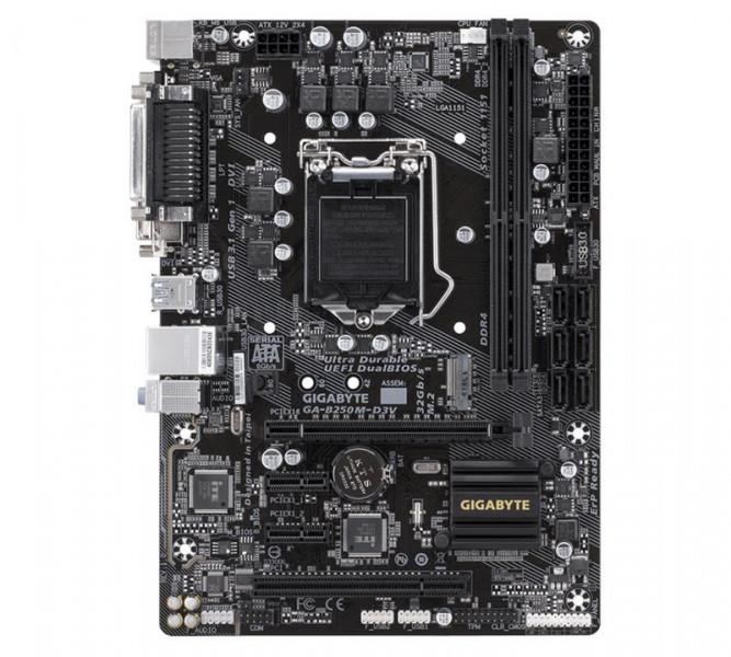Материнская плата Gigabyte GA-B250M-D3V (s1151, Intel B250, PCI-Ex16)