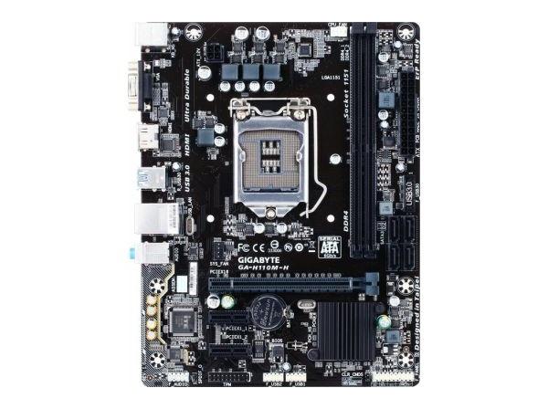 Gigabyte GA-H110M-H (s1151, Intel H110, PCI-Ex16) Gigabyte