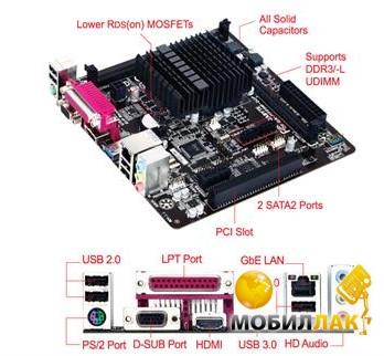 Gigabyte GA-J1900M-D2P MobilLuck.com.ua 1337.000