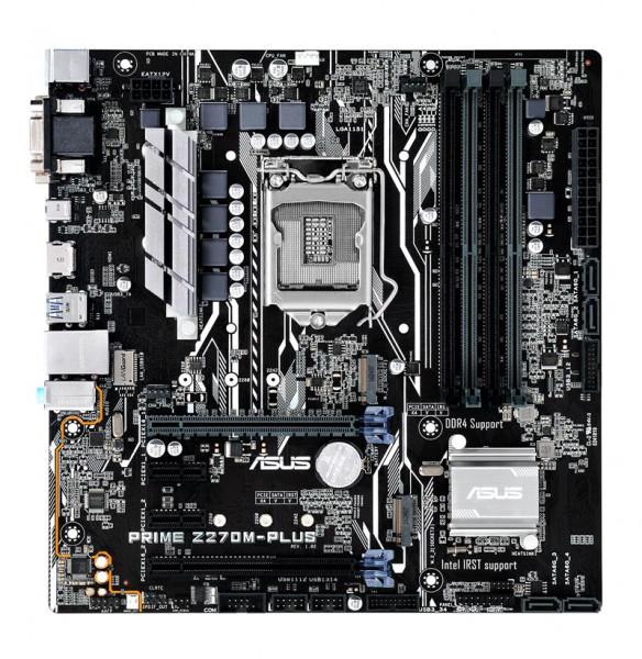 Asus Prime Z270M-Plus Z270 4DDR4 HDMI-DVI-VGA M.2 mATX Asus