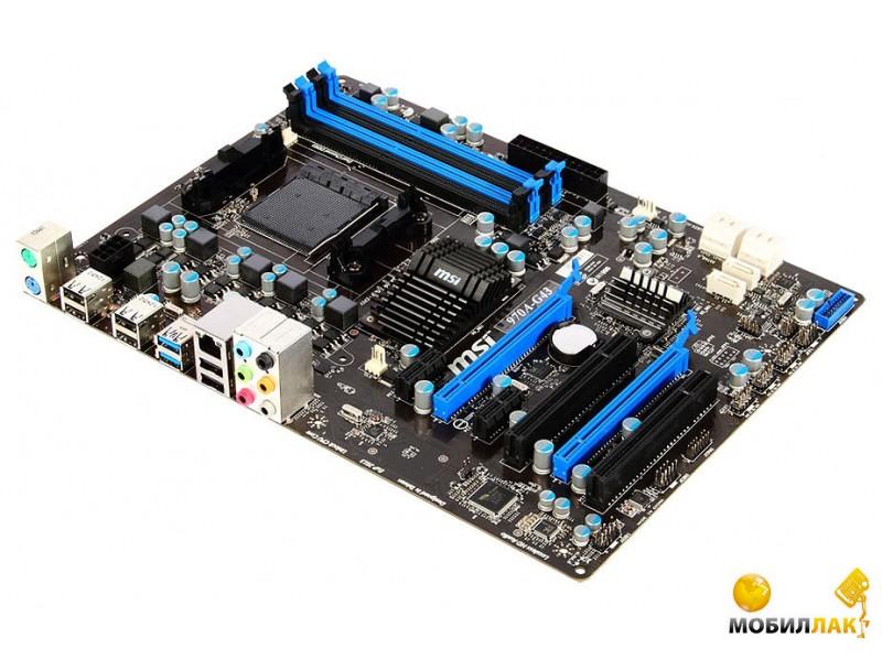 MSI 970A-G43 (sAM3+, USB3, GLAN, 2xPCIe16) MSI