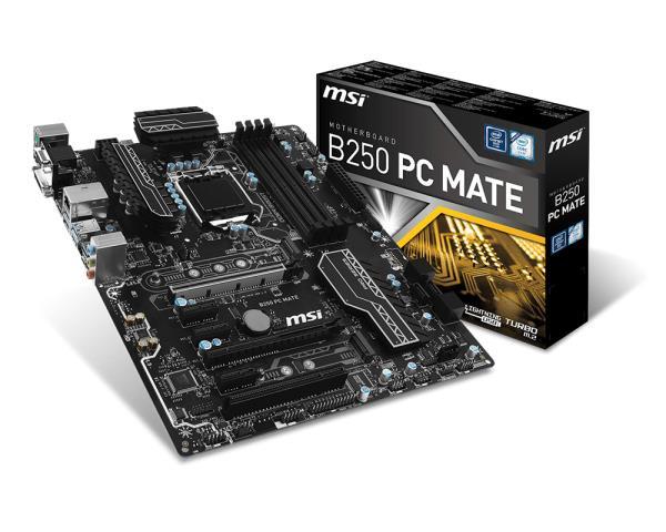 MSI B250 PC MATE MSI