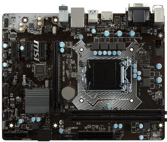 MSI H110M PRO-VDP (s1151, Intel H110, PCI-Ex16) MSI