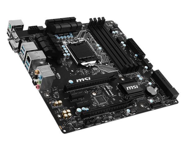 MSI H170M-A Pro s1151 H170 4DDR4 M.2 mATX (H170M-A_PRO) MSI