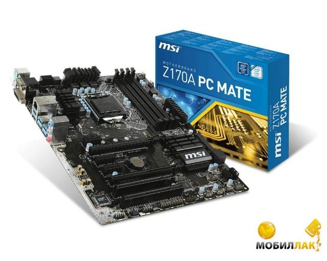 MSI Z170A PC Mate MSI