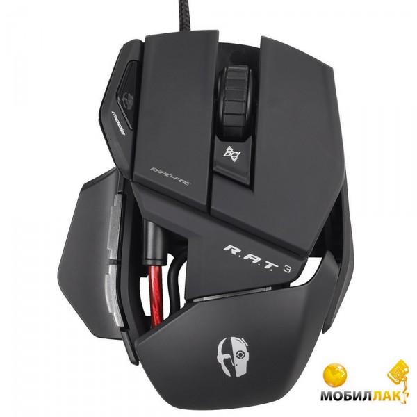 Cyborg MADCATZ R.A.T. 3 Gaming Mouse (MCB4370300B2/04/1) MobilLuck.com.ua 839.000