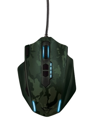 Trust GXT 155C Gaming Mouse Green camouflage Trust