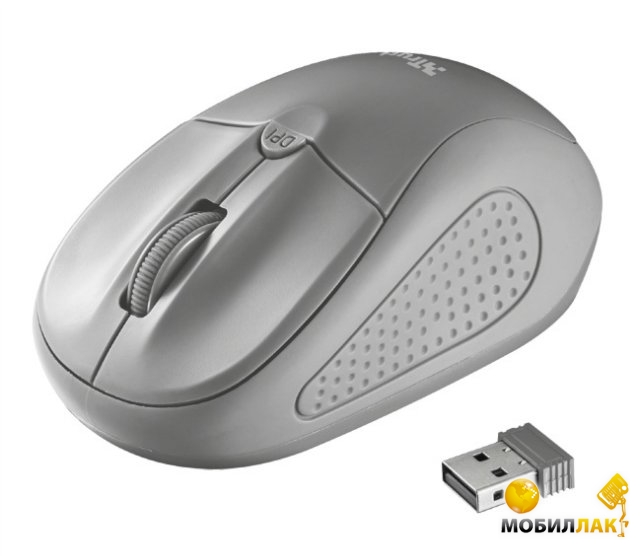 Trust Primo Wireless Mouse Grey (20785) Trust