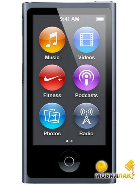 Apple A1446 iPod nano 16GB Space Gray (7Gen) (ME971QB/A) Официальная гарантия MobilLuck.com.ua 3359.000