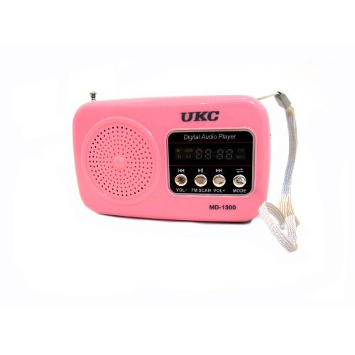 Ukc MD-1300 USB MP3 Pink Ukc