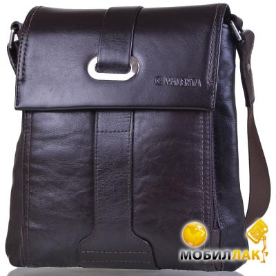 9d6439305493 Фотография Мужская кожаная сумка через плечо Valenta BM7025910 (0)