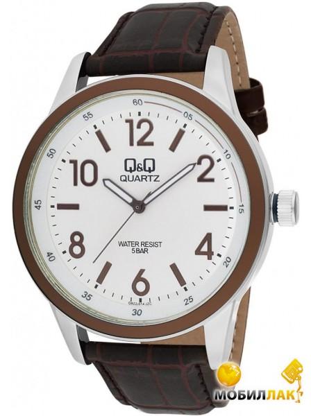 Минеральное. Особенности. часы Q&Q Q922J324Y. Часы Q&Q. Стрелки с люминесцентным покрытием. Мужские