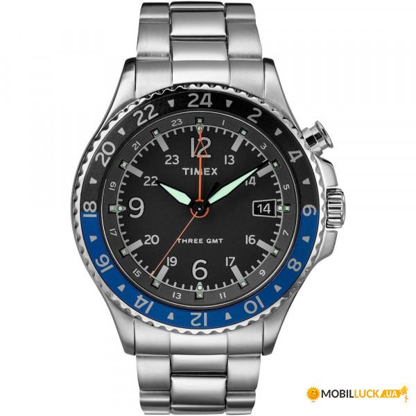 Наручные часы Timex IQ Allied 3-GMT Tx2r43500. Купить Наручные часы Timex  IQ Allied 3-GMT Tx2r43500. Цена b21d71f1b68fe