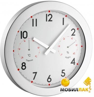 Купить Настенные часы TFA XXL с термометром и гигрометром 603005. Цена ad54616e8d471